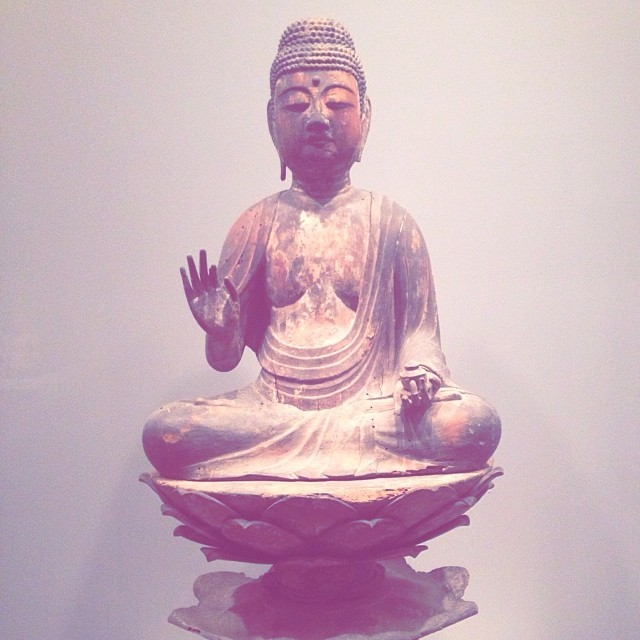 Buddha at the Art Institute of Chicago