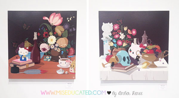 Hello Kitty Con Still Lifes by Dabs Myla
