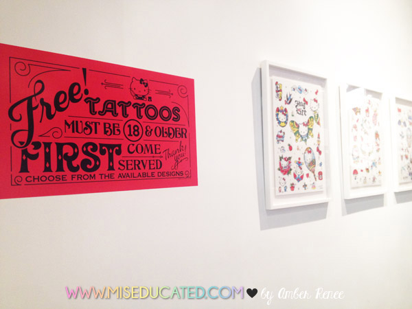 Free Hello Kitty Tattoos at Hello Kitty Con