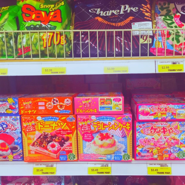 kawaii junk food in saraga