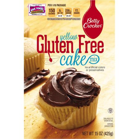 yellow gluten free cake mix